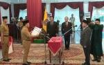 Gubernur Lantik Komisaris Utama Bank Kalteng