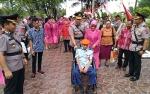 Penerjun Pertama di Kalteng Hadiri Ziarah ke Makam Pahlawan Sanaman Lampang