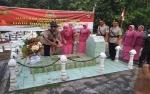 Kapolres Pulang Pisau Pimpin Ziarah ke Makam Pahlawan di HUT Bhayangkara