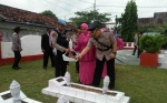Kapolres Seruyan Pimpin Ziarah Taman Makam Pahlawan