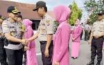 18 Personil dan ASN Polres Barito Selatan Naik Pangkat