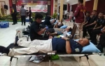 Rayakan HUT Bhayangkara ke 73, Polda Kalimantan Tengah Gelar Bakti Sosial Donor Darah