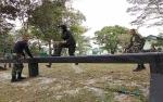 Fisik Resimen Mahasiswa Digembleng di Yonif Raider 631 Antang