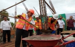 Gubernur Letakkan Batu Pertama Pembangunan Hasanka Boarding School