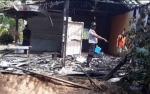 Rumah Warga Pangkalan Tiga Terbakar Diduga Akibat Arus Pendek Listrik