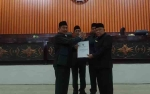 DPRD Murung Raya Setujui Raperda Pertanggungjawaban APBD 2018