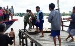 Mobil Nyebur ke Sungai, Istri dan 2 Anak Ikut Tenggelam di Pangkoh