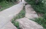 Dinas PUPR Barito Utara Segera Cek Longsornya Jalan Desa Teluk Malewai