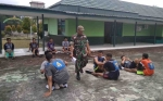 Kodim Kuala Kapuas Beri Pembinaan Fisik Calon Prajurit dan PNS TNI AD
