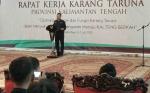 Ketua Karang Taruna Kalteng Sarankan Belajar Kelola Usaha