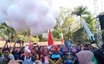 Ribuan Masyarakat Hadiri Olahraga Bersama dan Bazar Polda Kalimantan Tengah