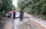 Pemerintah Desa Nihan Hilir Selesaikan Jalan Wagak