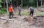 Tim Gabungan Penanggulangan Karhutla Murung Raya Sisir Desa Muara Jaan