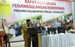 Pemerintah Provinsi Kalteng Gelar Rakor Penanggulangan Kemiskinan