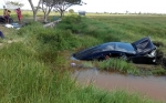 Mobil Milik Kepala Dinas Perhubungan Provinsi Kalteng Diduga Alami Kecelakaan
