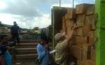 Polres Kotim Datangkan Ahli Ukur Dinas Kehutanan Provinsi Untuk Tangani Kayu Ilegal