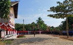Polres Kapuas Gelar Puncak Peringatan HUT ke-73 Bhayangkara di Rumah Betang Manggatang Utus