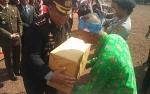 Dapat Penghargaan dari Kapolres Kotim, Tokoh Pendiri Kalimantan TengahBersyukur Masih Diingat