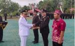 Wakil Bupati Murung Raya Pimpin Upacara HUT Bhayangkara