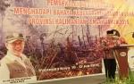 Gubernur Komitmen Wujudkan Kalimantan Tengah Bebas Kabut Asap