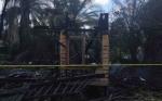 Sebuah Rumah di Jalan Menteng 3 Palangka Raya Ludes Terbakar