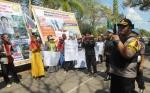 150 Personel Polres Kotawaringin Timur Amankan Demo Buruh