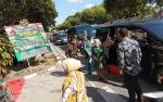 Istri Gubernur Sambut Kedatangan Istri Wakil Presiden di Palangka Raya
