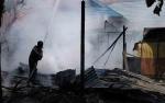 Polisi Masih Selidiki Penyebab Rumah Kosong di Bukit Raya Terbakar