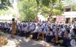 Tahun Ajaran Baru di SMAN 2 Palangka Raya Dibuka Kepala Dinas Pendidikan Kalteng