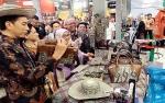 Presiden Kunjungi Stan UMKM Kalimantan Tengah di Karya Kreatif Indonesia