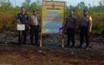 Lahan Kosong Tepi Jalan Trans Kalimantan Bukit Batu - Hampangen Diberi Garis Polisi
