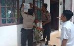 Polsek Kapuas Barat Pasang Imbauan Ajak Warga Siaga Karhutla