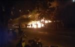 4 Ruko di Jalan RTA Milono Terbakar Dinihari Tadi