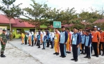 Masa Pengenalan Lingkungan Sekolah di SMKN 3 Sampit Libatkan Anggota TNI