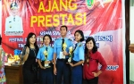 Usaha Pelajari Photoshop, Talitha Juara 1 Lomba Desain FLS2N Tingkat Provinsi