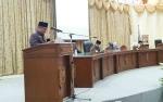 Ini Catatan Fraksi PPP dan PDIP DPRD Barito Utara di Raperda Pertanggungjawaban APBD 2018