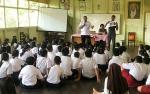 Pelajar SMP Santa Maria Diberi Penyuluhan soal Narkoba