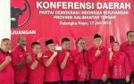 Gubernur Ucapkan Selamat untuk Pengurus DPD PDIP Kalteng