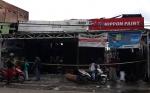 Polisi Masih Selidiki Penyebab Terbakar 4 Bangunan di Tjilik Riwut Kuala Kapuas