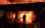 4 Bangunan Terbakar di Jalan Tjilik Riwut Kapuas