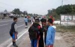Puluhan Murid SDN 4 Kelurahan Kasongan Lama Ikut Kegiatan Jumat Beriman