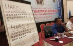 Haris Sadikin Nahkodai PWI Kalimantan Tengah Periode2019-2024