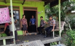 Jajaran Polsek Kapuas Barat Imbau Warga Desa Penda Ketapi Waspadai Karhutla