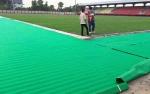 Pinggir Lapangan Stadion Tuah Pahoe Dibenahi