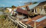 Warga Korban Rumah Roboh Terkena Abrasi Berharap Bantuan Pemerintah