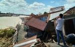 Tiga Rumah Ambruk, Pemko Masih Kaji Relokasi Warga Bantaran Sungai