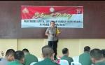Kapolres Palangka Raya Sambut Perwira Siswa Angkatan 57