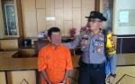 Jajaran Polsek Pahandut Amankan Tersangka Pelaku Penggelapan Motor Teman