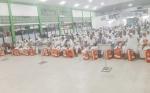 Jamaah Calon Haji Kalteng Kloter 10 Diberangkatkan dari Embarkasi Banjarmasin