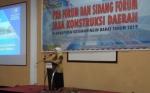 Dinas PUPR Kalteng Gelar Forum Diskusi Sosialisasikan UU Jasa Konstruksi